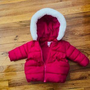 Pink Gymboree baby coat